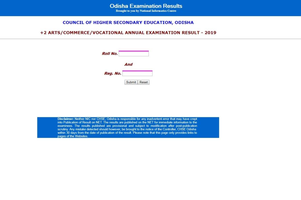 Odisha CHSE Class 12 result 2019, chseodisha.nic.in, Odisha CHSE, Odisha Class 12 result