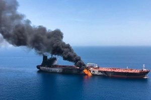 Iran dismisses US accusations on attacks on twin oil tankers