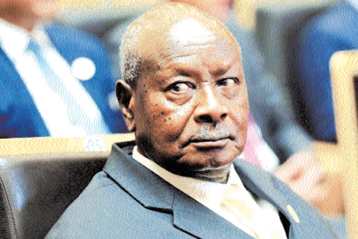 Uganda, President Yoweri Museveni