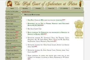 Patna High Court recruitment: Applications invited for PA posts, apply now at patnahighcourt.gov.in