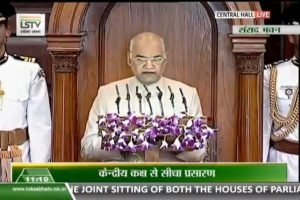 'Clear mandate in polls', says President in joint Parliament session, calls for removal of triple talaq