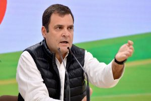 Yogi Adityanath 'behaving foolishly': Rahul Gandhi on journalist arrests