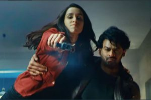 Saaho official teaser out, fans appreciate visuals of Prabhas, Shraddha Kapoor starrer