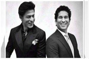 Sachin Tendulkar has word of advice for Shah Rukh Khan