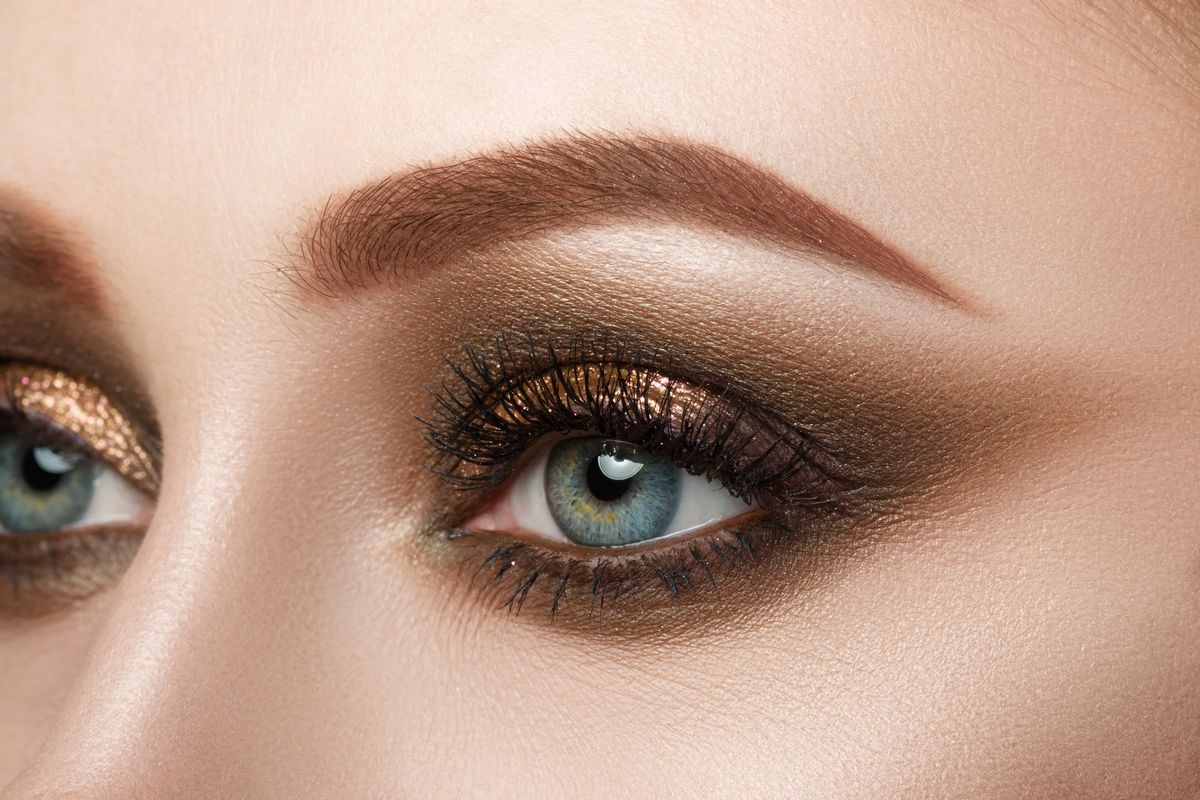 smoky eye makeup, coverage, eyeliner, mascara, eye shadow, summer, advanced makeup tools