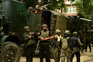 4 terrorists killed in gunfight with security forces in J-K's Pulwama, arms recovered