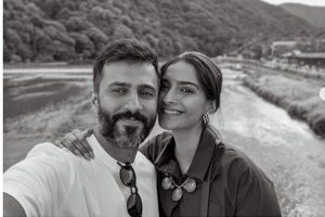 Sonam Kapoor, Anand Ahuja enjoy summer vacation in Kyoto, Japan