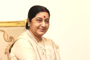 Sushma Swaraj moves out of her official residence in Delhi's Safdarjung Lane