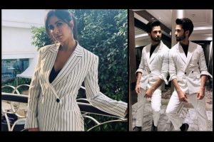 Shahid Kapoor and Katrina Kaif twinned in these outfits