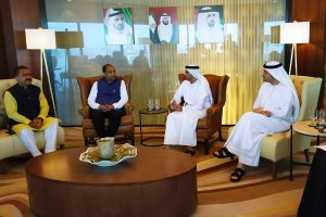 Himachal discuss collaboration with UAE in tourism, real estate sectors