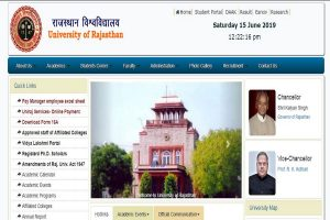 Rajasthan University UG results 2019 declared at uniraj.ac.in | Steps to check results here