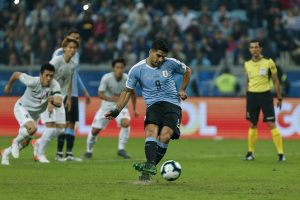 Uruguay settle for 2-2 draw against Japan in Copa America