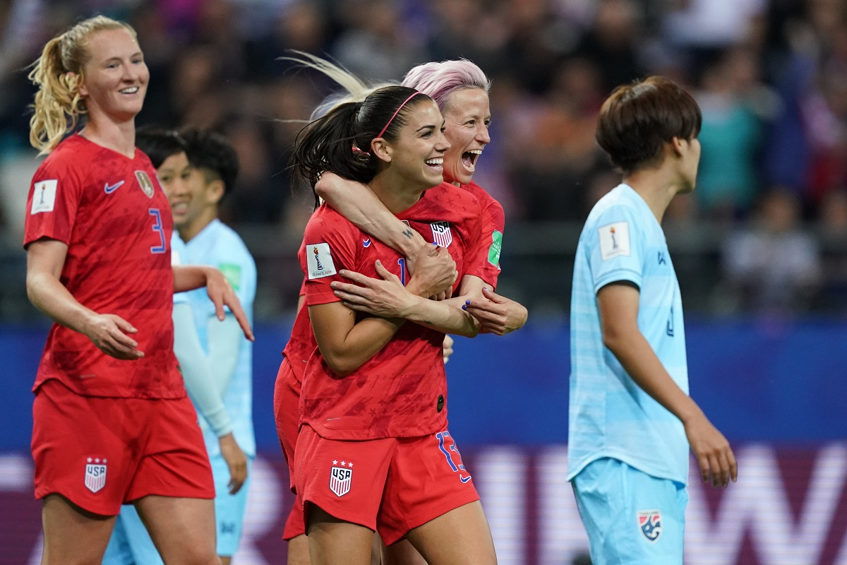 Women's World Cup 2019, FIFA, United States, Thailand, Alex Morgan