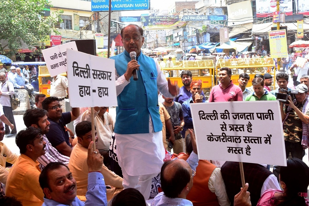 Delhi power tariff, Vijay Goel, New Delhi, Delhi, Arvind Kejriwal