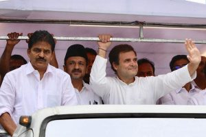 Rahul Gandhi holds roadshow in Wayanad, says Congress fighting PM Modi's poison