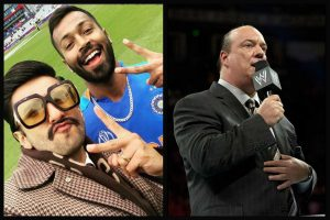 WWE star Brock Lesnar's manager warns Ranveer Singh over catchphrase after India-Pak WC match