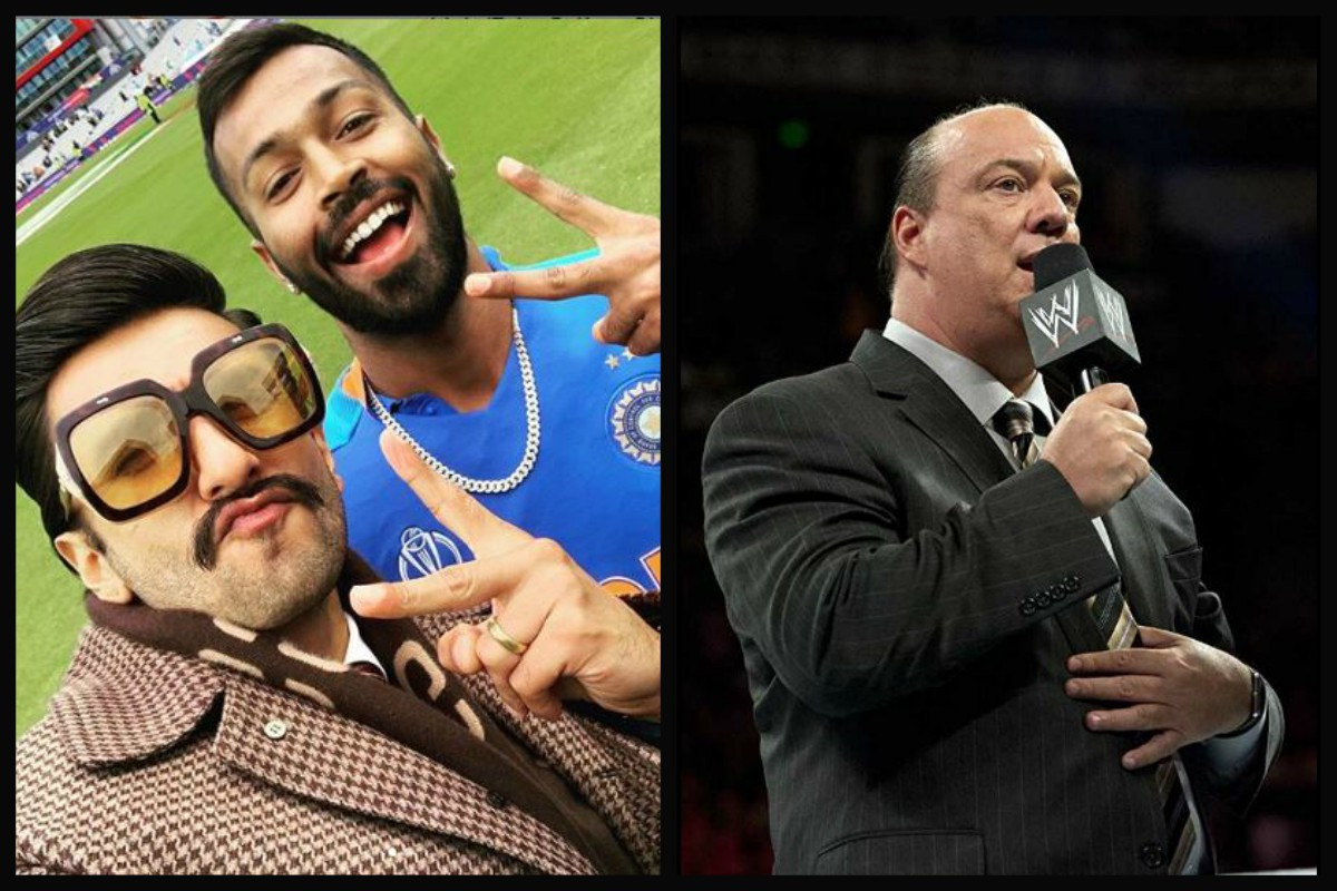 Brock Lesnar's Advocate Paul Heyman Mocks Ranveer Singh For THIS Reason