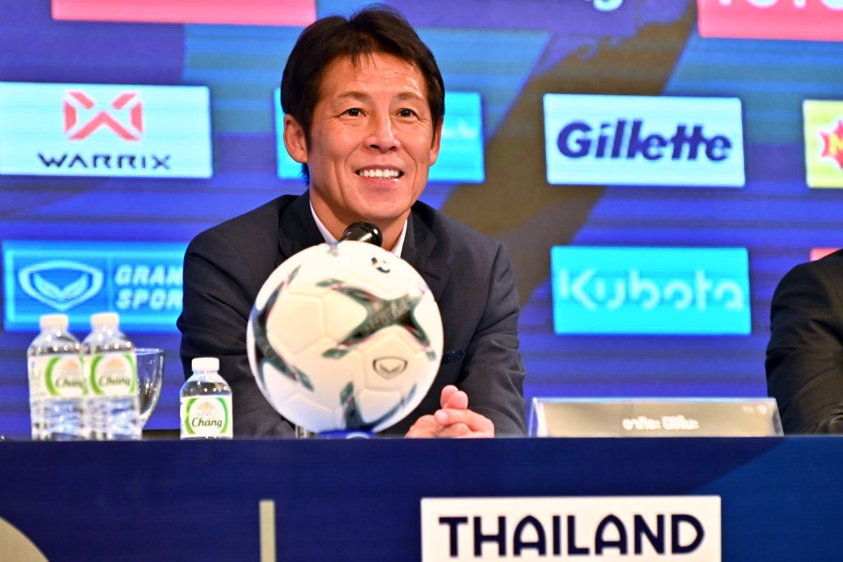 Akira Nishino, Thailand, AFC Asian Cup, FIFA World Cup Qualifiers