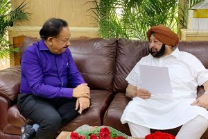 Amarinder Singh seeks Central assistance for drug treatment