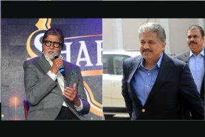 Amitabh Bachchan, Anand Mahindra enjoy banter over 'Big B'