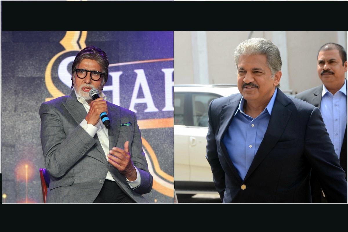 Amitabh Bachchan, Anand Mahindra, Union Budget, Twitter, Bollywood, Big B, Mahindra Group