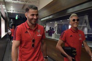 Arsenal's Mesut Ozil, Sead Kolasinac safe after knife attack in London