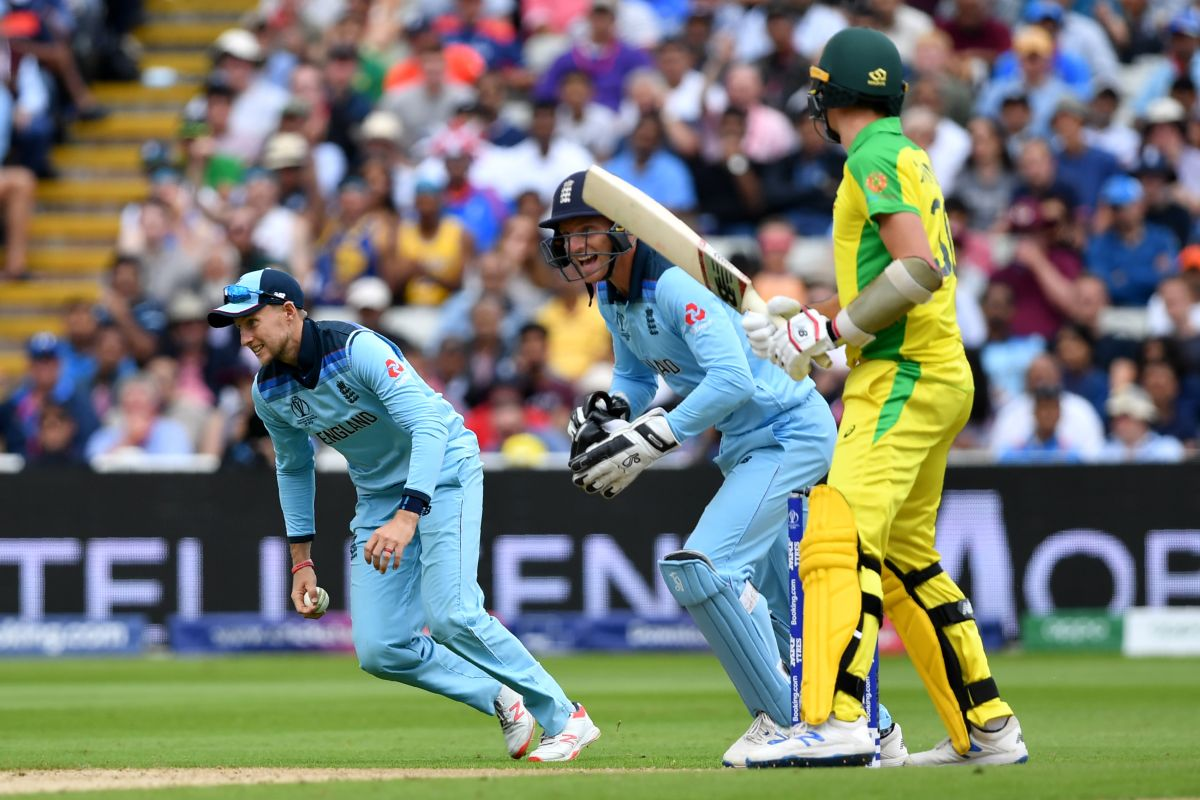 Cricket World Cup 2019, Australia, England, political banner, ICC
