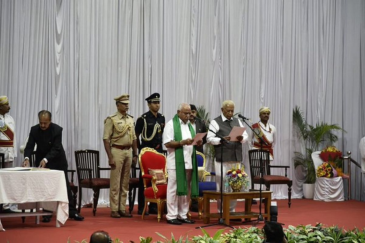 Back in the saddle, BS Yediyurappa, BJP, Karnataka