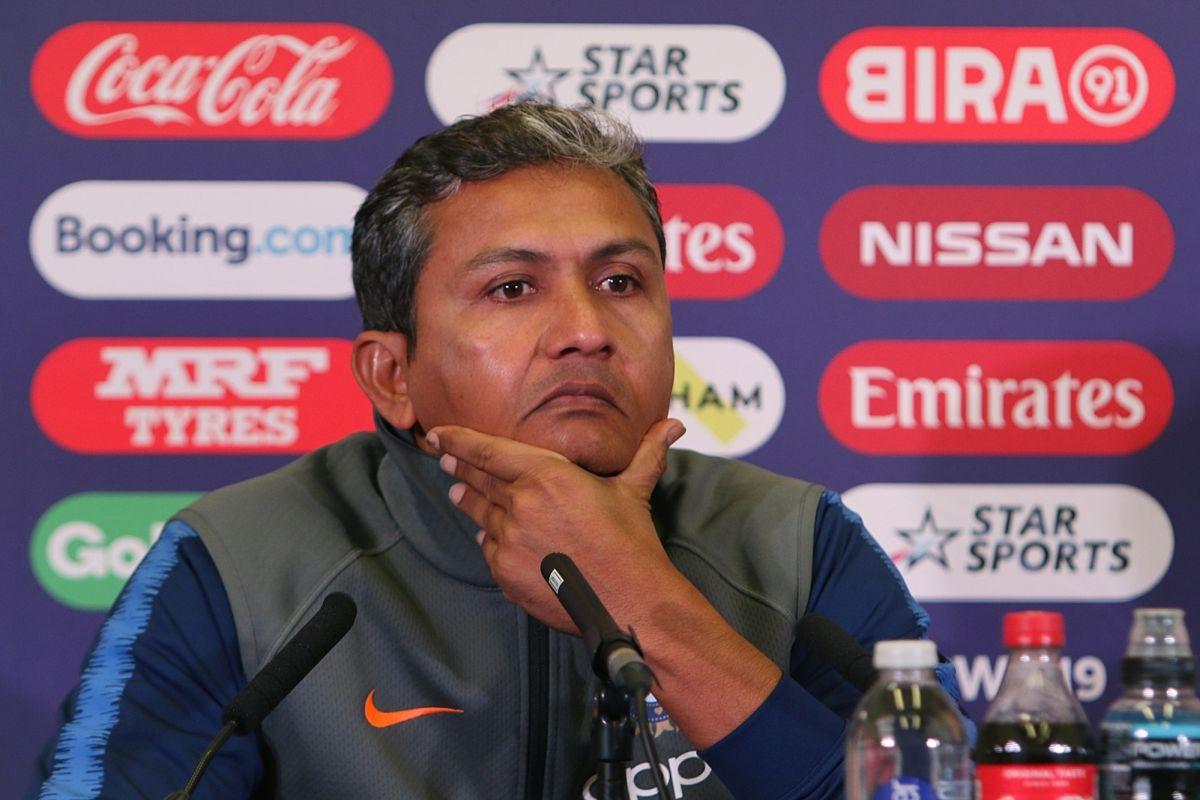 Coaching staff, Ravi Shastri, Sanjar Bangar, Cricket World Cup 2019