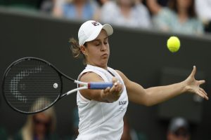 Ashleigh Barty stays at number one in spite of Wimbledon upset