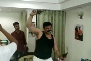 BJP MLA expelled from party for 6 years over pistol dance video