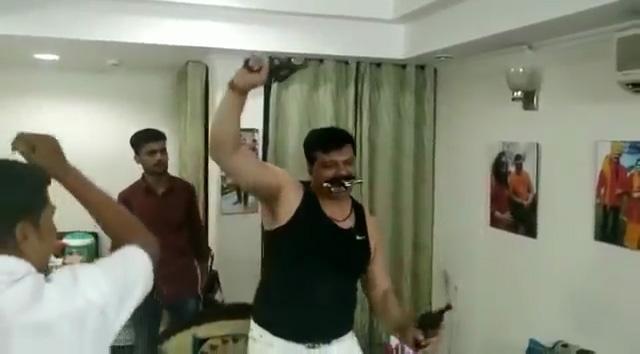 BJP MLA, Kunwar Pranav Singh Champion, Bharatiya Janata Party, BJP disciplinary committee, viral video, pistol dance