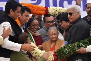 PM, President, other leaders pay tributes to Congress' 'beloved daughter' Sheila Dikshit