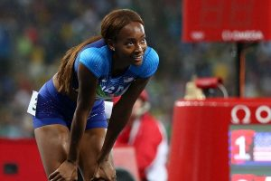 Dalilah Muhammad breaks world 400m hurdles record