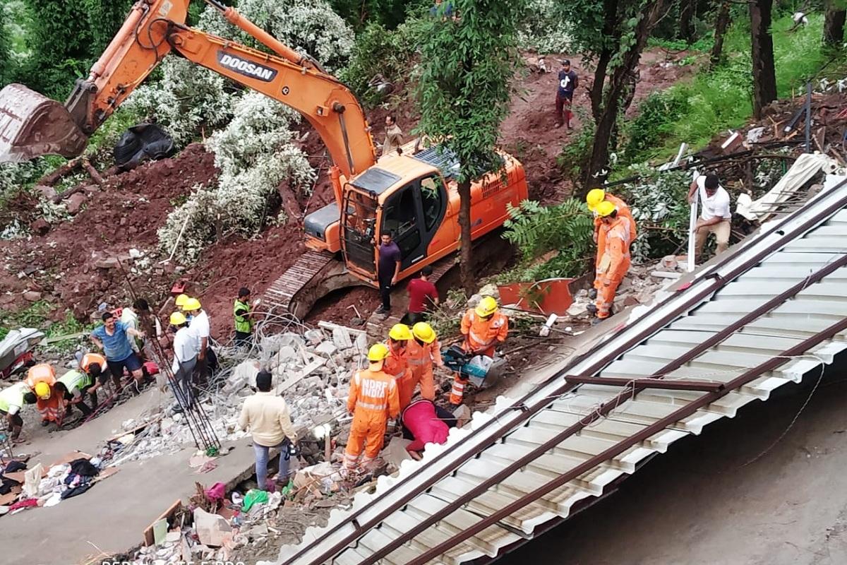 Building collapse, Shimla, Assam Rifles, Indian Army, Solan, Himachal Pradesh, Himachal, Jai Ram Thakur