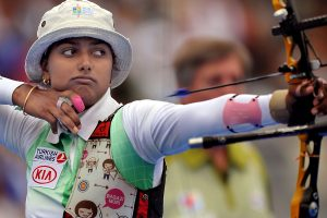 Deepika fourth in qualifications of Tokyo Olympic test event