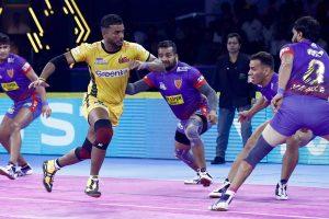 PKL 7: Dabang Delhi inch Telugu Titans 34-33