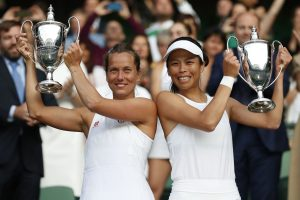 Hsieh and Strycova win women's doubles at Wimbledon