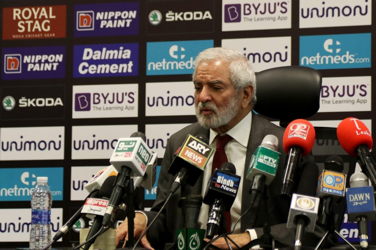 Ehsan Mani, Pakistan Cricket Board, ICC's Financial and Commercial Affairs Committee,