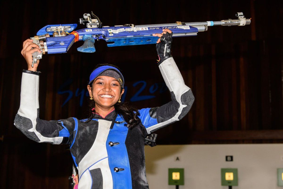 Elavenil wins gold; India bag 10m air rifle team gold with world record