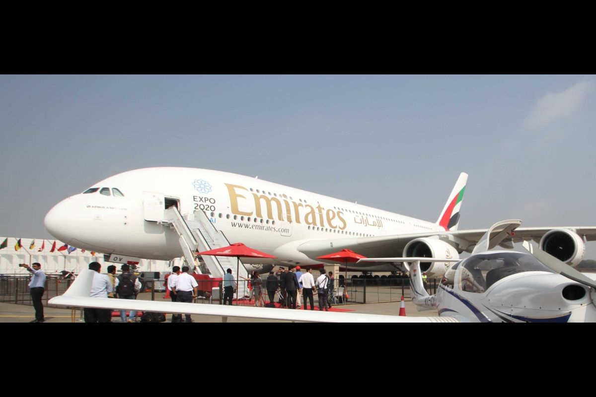Emirates, Shortest flight, A380, Dubai-Muscat