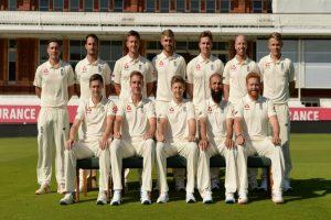 England bat against Ireland in one-off Test