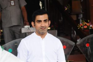 After skipping pollution control meeting,'missing' posters of Gautam Gambhir in Delhi