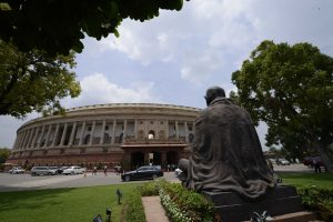 Polling on for by-elections to 2 Rajya Sabha seats from Gujarat