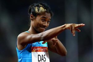 Once I scribbled Adidas on my shoes, they now make shoes with my name: Hima Das