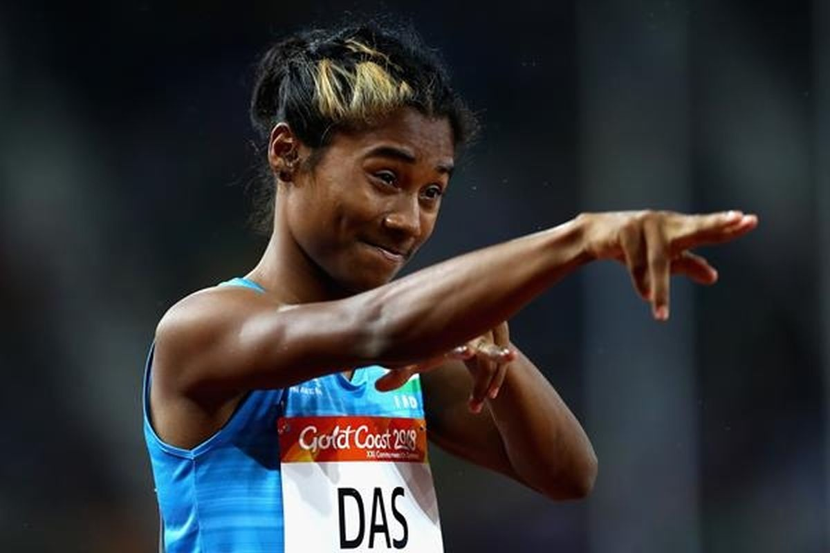 Five star for Hima Das in 400m, bags 5th gold of month
