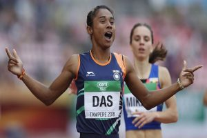 Hima Das donates half her salary for flood relief efforts in Assam