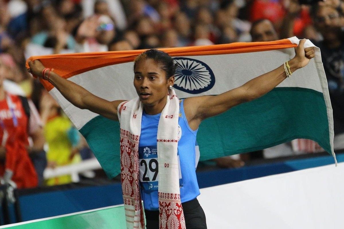 Hima Das and other athletes write to Sports Ministry asking permission to train outdoors
