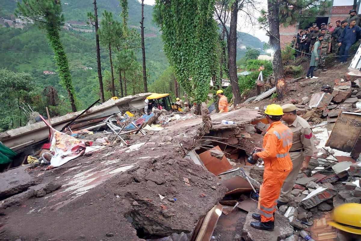 Himachal building collapse