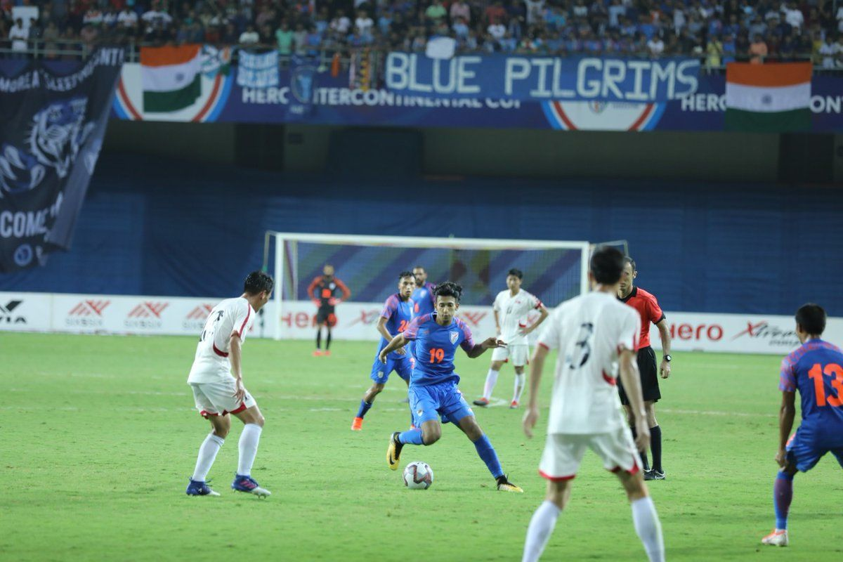 Sunil Chhetri, Igor Stimac, India, DPR Korea, Intercontinental Cup,